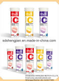 Tablette effervescente de vitamine C d'OEM certifiée par GMP