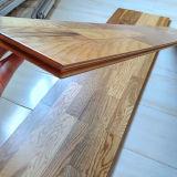 低価格のPrefinished浮遊寄木細工の床によって設計される木製のフロアーリングに3執ように勧めなさい