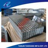 PPGI PPGL Prepainted после того как оно гальванизировано настилающ крышу лист