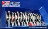 Frantoio di plastica con la doppia trinciatrice dell'asta cilindrica