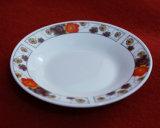 Plaat van het Diner van China de Goedkope, het Ceramische Vaatwerk van de Plaat van de Soep