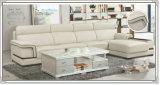 Sofá moderno de China, sofá de couro na sala de visitas (A012)