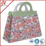 2016 Bolso de papel de compras Bolsa de papel del regalo de la flor