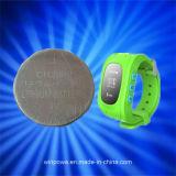 Lithium-Tasten-Zellen-Batterie für Uhr-Telefon