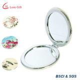Espelho de vidro da composição Pocket da liga e do couro do zinco