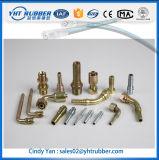 Ferrures de coude femelles métriques de tuyau hydraulique