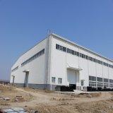 Taller ligero prefabricado de la estructura de acero con la escala de la jaula (KXD-SSW1145)
