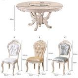Cadeira de Jantar de Madeira, Cadeira do Estilo de Europa, Cadeira do Estilo Francês (619)