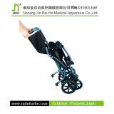Foldable chiaro Manual Wheelchair per The Disabled e anziani
