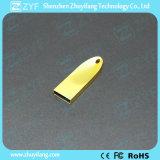 Новый уникально привод вспышки USB металла золота конструкции 2017 (ZYF1767)