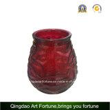Sostenedor de cristal de Tealight de la venta al por mayor del sostenedor de vela del huevo del día de Pascua