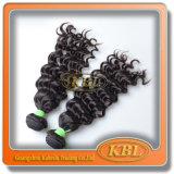 Color natural 4A Human brasileiro Hair