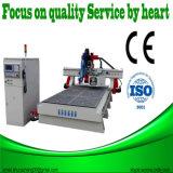 Maquinaria de acrílico del CNC del tamaño de la caja ligera 1300*2500 del PVC
