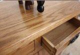 Eichen-Holz-Schuh-Schrank-Qualitäts-Waren-Schrank (M-X1042)