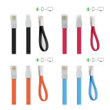 iPhone 5sのためのUSB Data Cable Charger Noodle Line