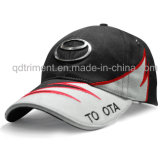 Casquillo de golf del deporte del bordado de la tela cruzada del algodón de la manera (TMB9037)