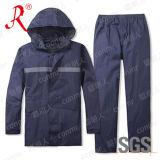 Het nieuwe Kostuum van de Regen van de Stijl Waterdichte en In te ademen (qf-768)