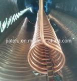 銅のコイル・ヒーターの交換体によって予備加熱される太陽給湯装置