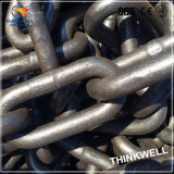 Galvanized saldato Steel Long Link Chain per Marine