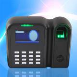 3 registrador de tempo da impressão digital da tela da cor da polegada TFT (QClear-C)