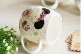 Выдвиженческие керамические чашки с печатание коробки для подарков