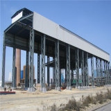 Luz de estructura de acero de almacén y taller