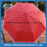5 створка Printed Lace Board Small Aluminum Umbrella для Girls