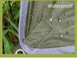 Tente campante d'hamac de parachute imperméable à l'eau portatif avec la moustiquaire