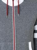 Застежка-молния Hoodies хлопка изготовленный на заказ женщин