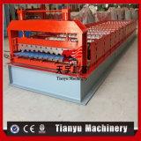 Machine de roulement en acier automatique de feuille de toiture de PPGI, roulis de toit en métal formant la machine
