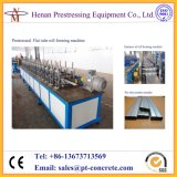 Schnelle Geschwindigkeits-Pfosten-Spannkraft galvanisierte glatte flache Leitung-Stahlmaschine