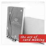 IDENTIFICATION RF Smart Card de PVC sans contact de plastique d'impression UV en gros de prix bas avec la puce