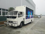 Diodo emissor de luz de Dongfeng 4X2 que anuncia o veículo 5 toneladas de caminhão móvel do diodo emissor de luz