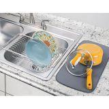 Drainer de prato do dissipador de cozinha ou cremalheira de secagem