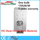 Iluminação de rua material do diodo emissor de luz da ESPIGA 100W-150W da condução de calor do PCI IP67
