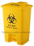 Binnen in openlucht de Plastic Medische Bak van het Afval