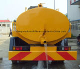 camion fécal d'aspiration de vide de 4X2 8m3 Aspiration-Type camion-citerne de 8 T d'excrément