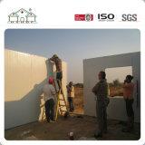 Hogar prefabricado de la casa del panel de emparedado del EPS para vivir