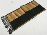 人のレディース男女兼用の可逆カシミヤ織の感じの冬の暖かい点検されたダイヤモンドの印刷の厚く編まれた編まれたスカーフ(SP820)