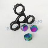 Vervaardigen friemelt de Directe Douane die van de fabriek CNC Machinaal bewerkte Stuk speelgoed van de Hand van het Aluminium Spinner