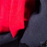 100% de tecido de lã para o outono com mão especial em preto