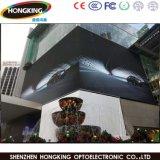 Visualización publicitaria a todo color al aire libre P8 del alto brillo