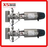 2inch 스테인리스 Ss304 위생 위생 압축 공기를 넣은 교류는 시트 벨브를 기분 전환한다