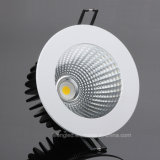 Aluminio empotrable COB LED Downlight 12W