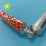 Kleber-Gefäße mit Gummigefäß-Kleber-Gefäßen der Spitze-Düsen-Aluminiumgefäß-zusammenklappbaren Gefäß-AB