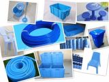 PE blu Masterbatch di plastica per il film di materia plastica