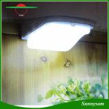da segurança clara ao ar livre solar infravermelha do trajeto do jardim do diodo emissor de luz da lâmpada de parede da lâmpada do sensor de movimento de 1PCS 3W 38LED PIR luz Emergency