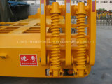 reboques de 2axles Lowbed Semi