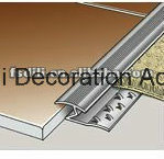 Het In orde maken van de Gesp van het Tapijt van de Rand van het Tapijt van Carpetstrip van de Overgang van het aluminium om de Deken aan te halen