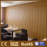 De houten Plastic Samengestelde Binnen Decoratieve Comités van de Muur van pvc WPC